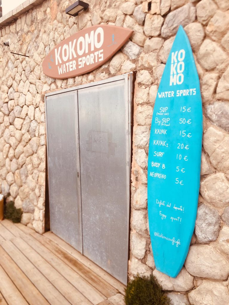 KOKOMO SURF - BEACH CLUB - CALA MAYOR - PALMA MALLORCA