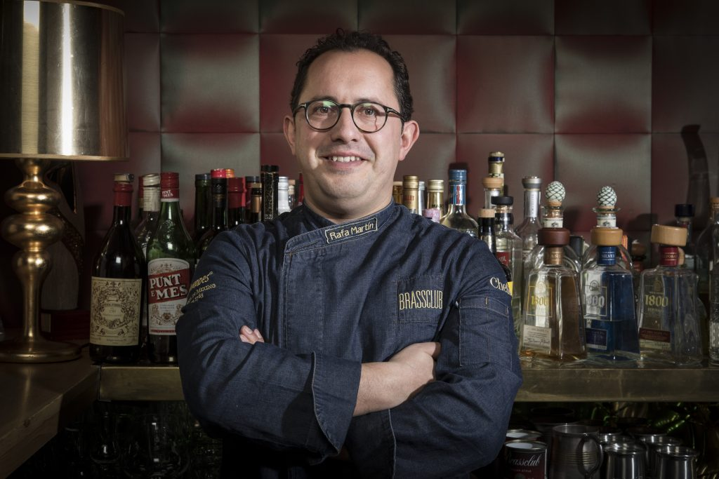 Rafa Martin from Brass Club & Coquetier Cocktail Club is a Hidden Icon