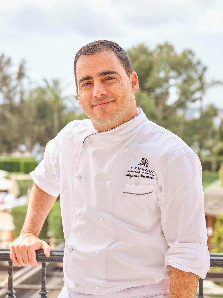 José Miguel Navarro, chef de Restaurante Es Fum en Hotel St Regis Mardavall, Icono Hidden
