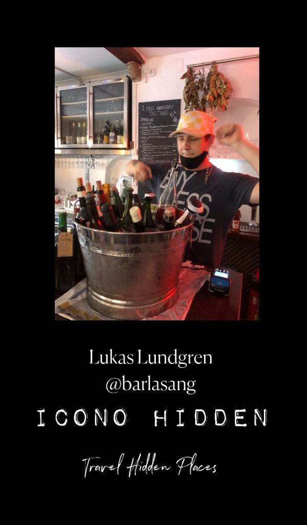 Entrevista a Lukas Lundgren de Bar La Sang, bar de vinos naturales, Mallorca.
